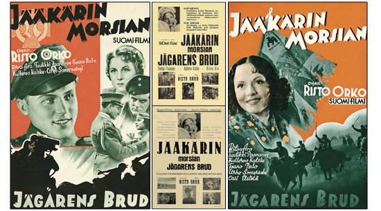 aikuisille - JÄÄKÄRIN MORSIAN (1938) - yksityisnäytös