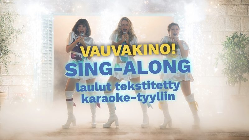 VAUVAKINO: MAMMA MIA - SING ALONG!