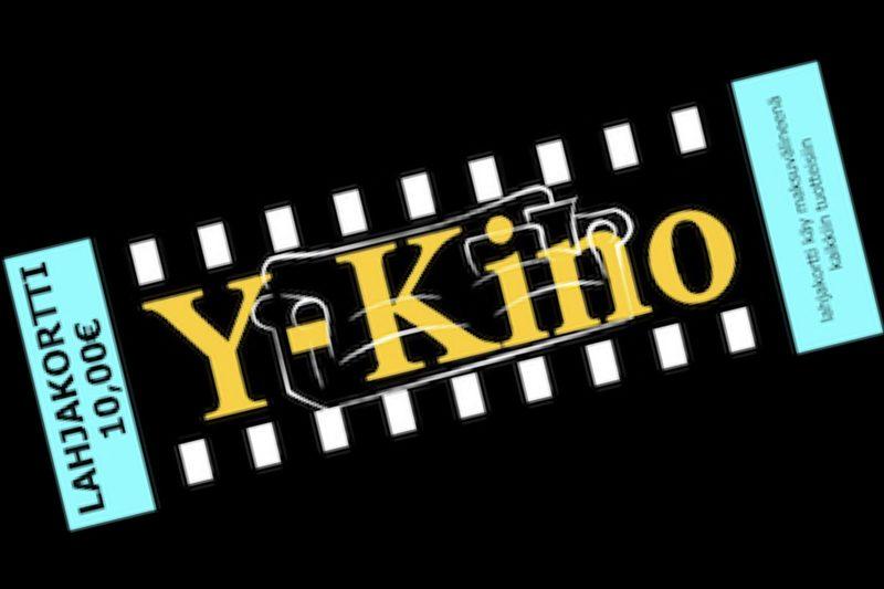 Y-Kinon lahjakortti 10€