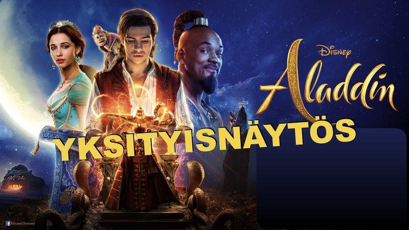 YKSITYISNÄYTÖS: Aladdin 2D