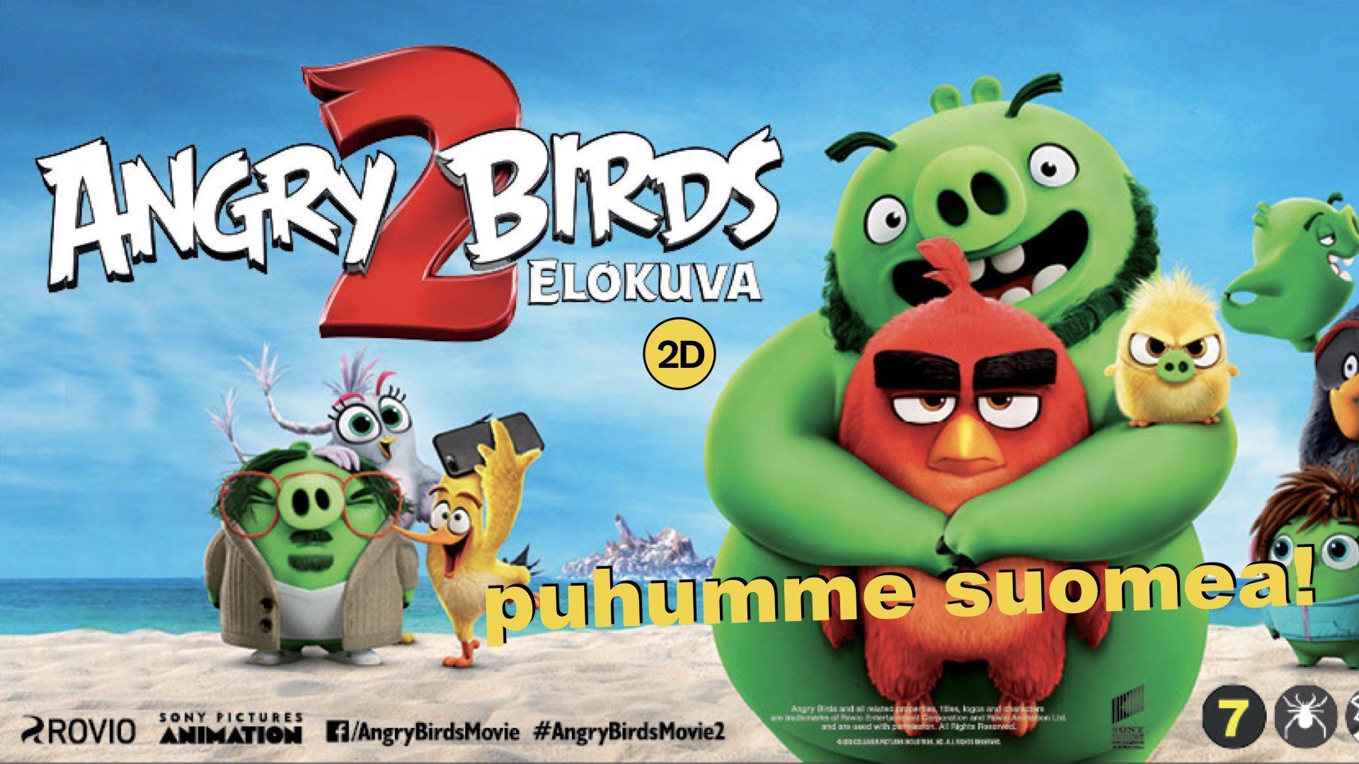 Angry Birds -elokuva 2 (2D suomeksi)