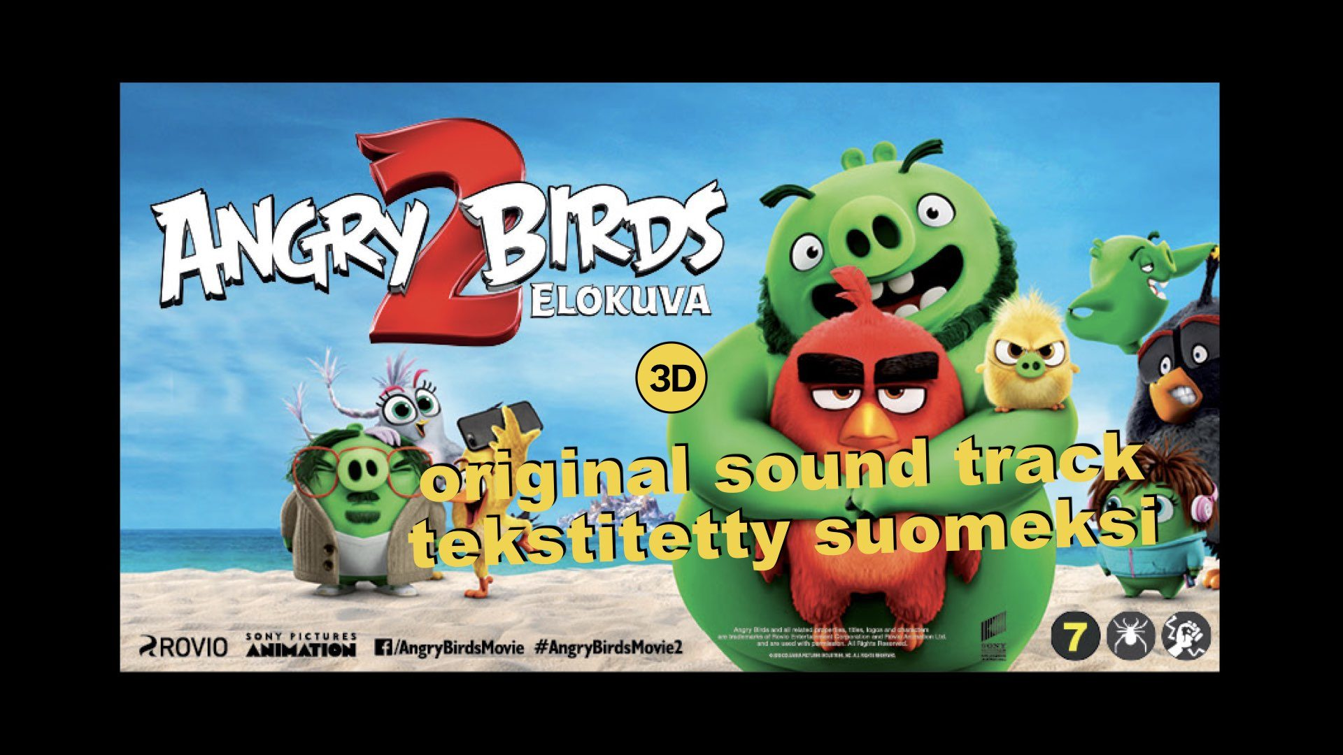 Angry Birds -elokuva 2 (3D orig sound)