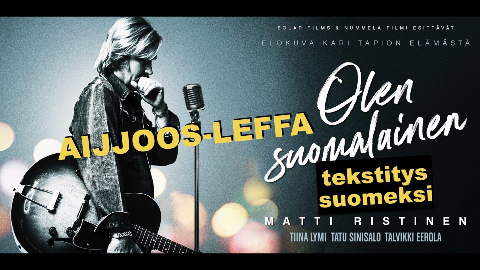 AIJJOOS-LEFFA: Olen suomalainen