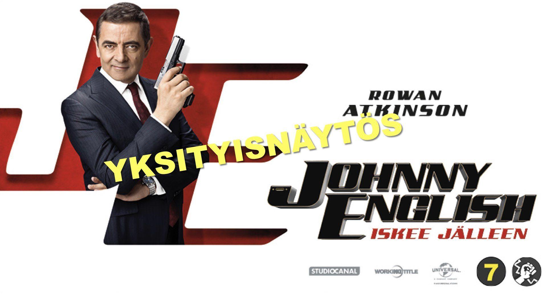 YKSITYISNÄYTÖS: Johnny English iskee jälleen